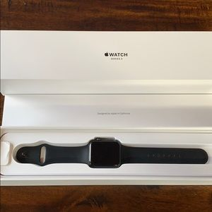 42mm Apple Watch Series 3 with bands
